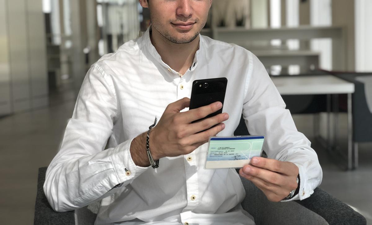 verificación del documento nacional de identidad