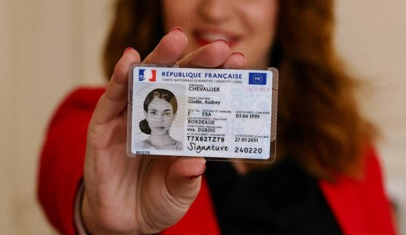 New french identity card